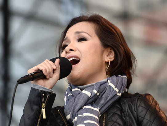 Lea Salonga performs during the 1st Annual Elsie Fest