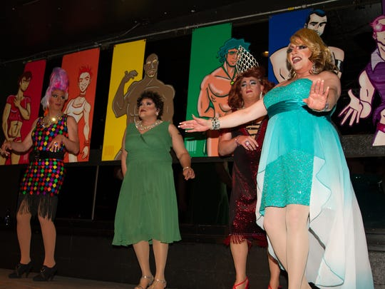 The Bag Ladies put on a show to raise HIV/AIDS awareness.