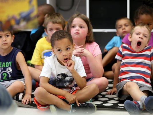 June 16, 2016: Blue Ash YMCA, Summer Camp, Liz Dufour