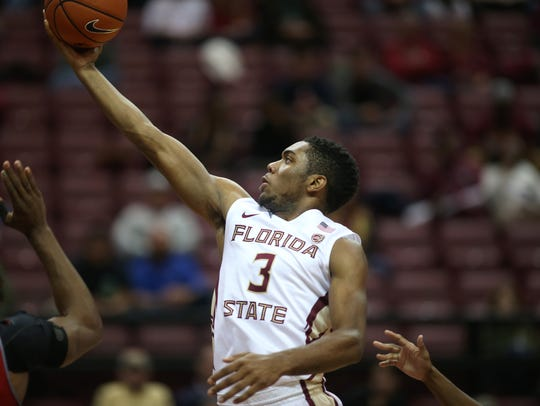 Florida State sophomore point guard Trent Forrest has