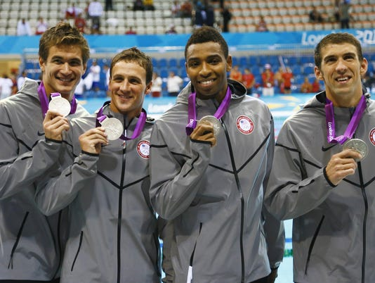 Olympics: Swimming-Men's 4x100m Freestyle Relay-Finals