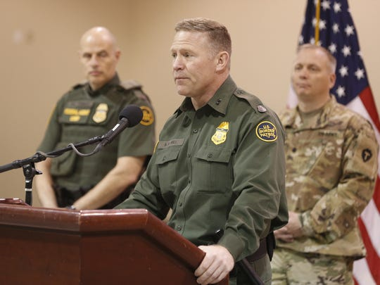 Border Patrol El Paso Sector Chief Aaron Hull on Friday