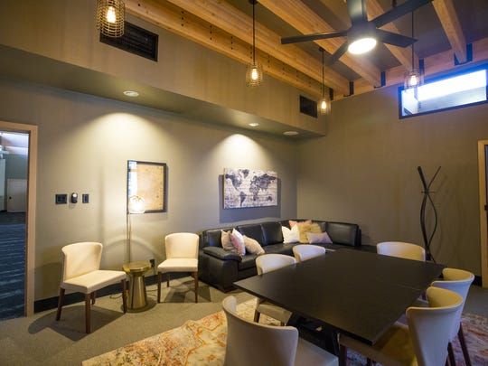 Because Event Space in Phoenix donates 10 percent of each booking to one of seven charities. The client gets to pick which one. Interior of  one of the spaces for rent.