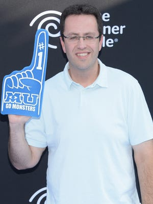 Jared Fogle attends the premiere of Disney Pixar's 'Monsters University' on June 17, 2013, in Hollywood.