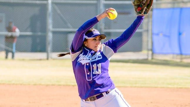 Lyana Waddell held her opponents scoreless until the fifth inning during the third of four games this past weekend.