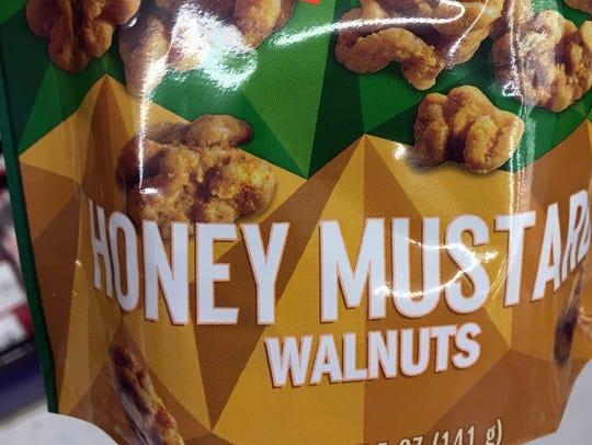 Honey mustard? Sure. Walnuts? No.