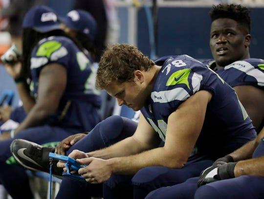 Seattle Seahawks' Luke Joeckel could be an option to