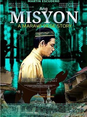 """Filipino movie """"Ang Misyon"""" shows at Tango Theatres starting June 29, 2018."""