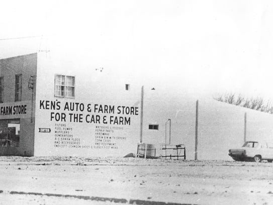 Ken Ranshaw opened Ken's Auto and Farm Store in 1962