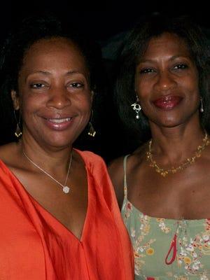 Sandra Coke, left, and her sister, Tanya Coke.