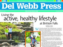 Living the active, healthy lifestyle and Britton Falls