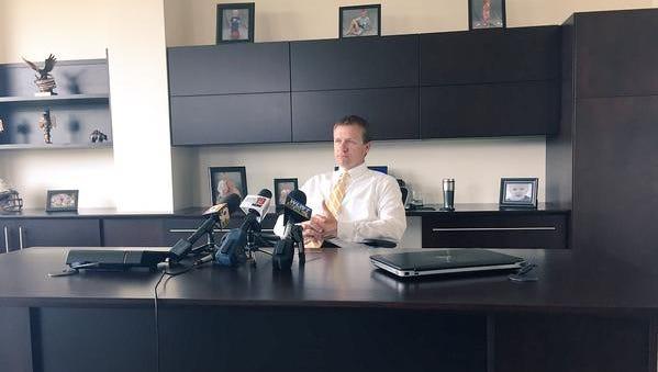 Warren County Prosecutor David Fornshell discusses the bizarre circumstances surrounding a May shooting in Hamilton Township.