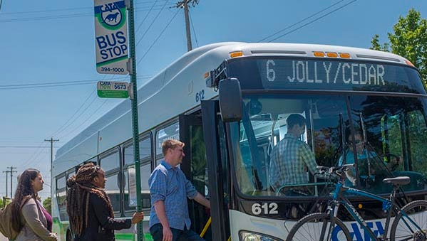 CATA buses serve the Greater Lansing region.
