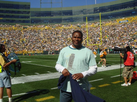 University of Wisconsin-Green Bay athletic director Charles Guthrie attended a Green Bay Packers-San Diego Chargers game at Lambeau Field in 2007.