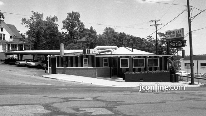 Triple XXX restaurant, 2 N. Salisbury Street, West Lafayette, as it appeared in 1972.