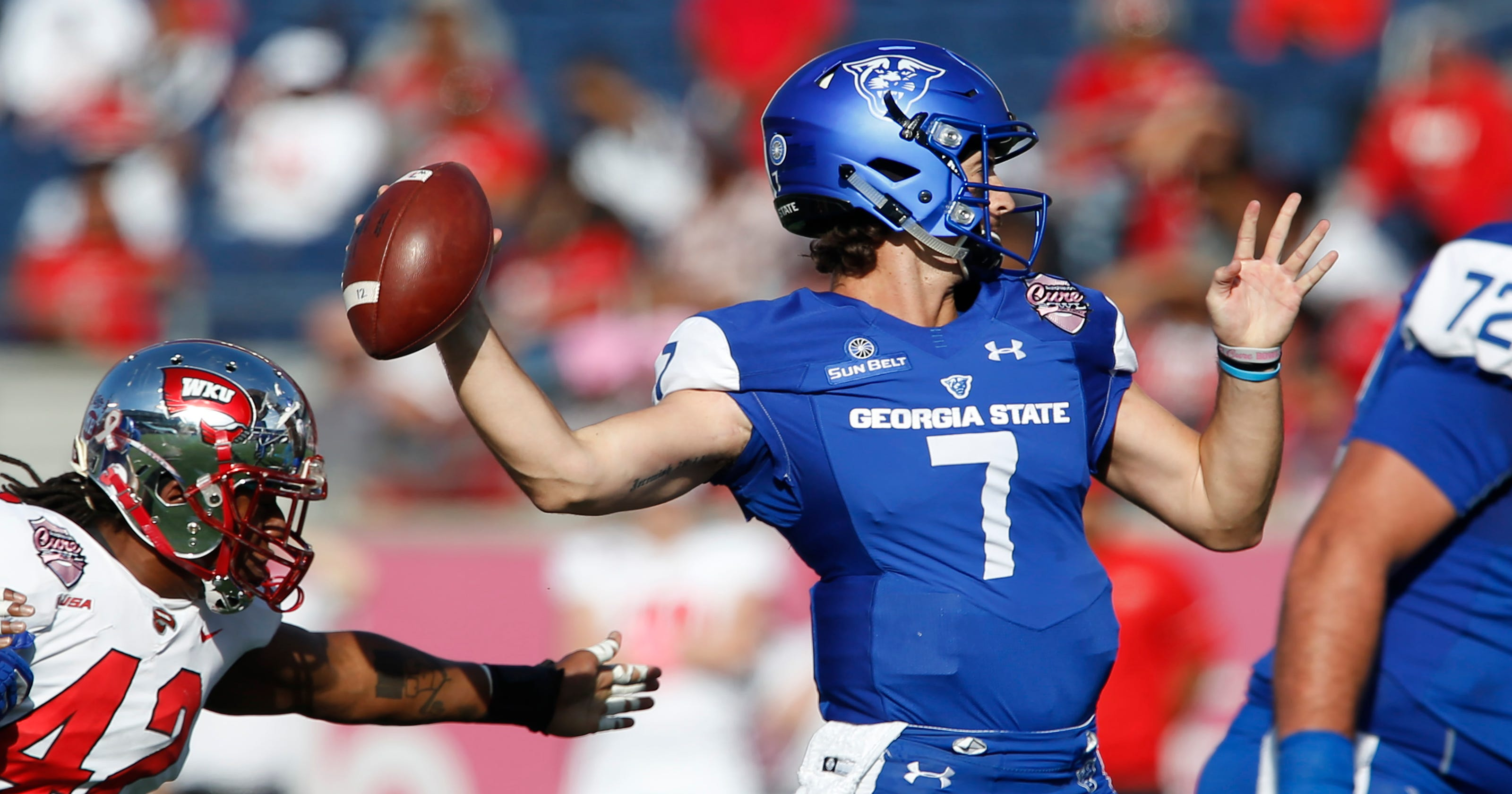 7e8e6916a Georgia State beats Western Kentucky for first bowl victory