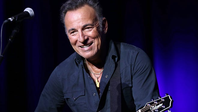 Bruce Springsteen performs at the 9th Annual Stand Up For Heroes event in New York.