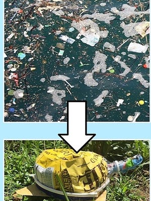 Learn how to turn trash into art!