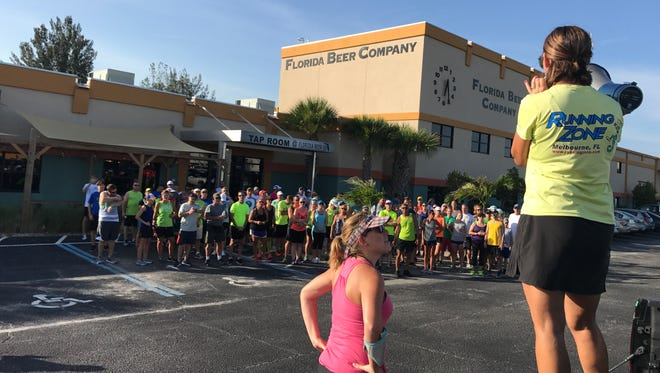 Last Tuesday was one of the hottest days this summer, but it still drew more than 100 runners and walkers to the Florida Beer Co. for the Summer Breweries Tour Fun Run/Walk.