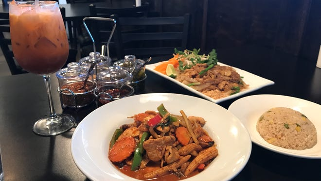 Basil of Monroe offers a variety of Thai dishes.