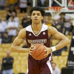 Mississippi State guard Quinndary Weatherspoon was named to the SEC's all-freshman team on Tuesday.