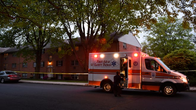 Lebanon City police and First Aid an Safety Patrol responded to Madison at Lebanon Court Apartments at 1100 Jackson Blvd., at 7:51 p.m. on Tuesday, May 10, 2016.