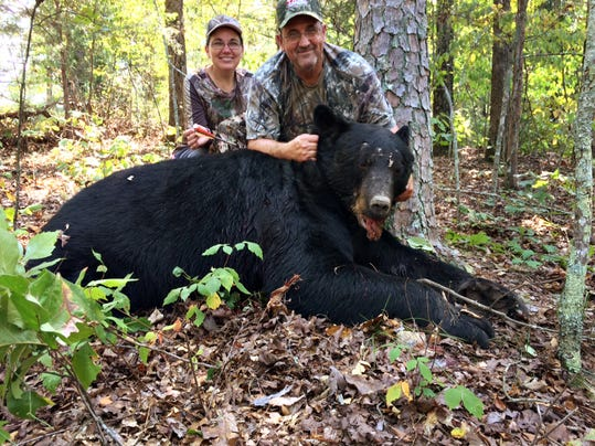 Arkansas Hunter Takes Huge Bear With Crossbow