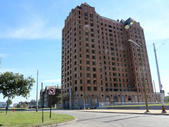Lee Plaza at 2249 W. Grand Blvd. in Detroit.