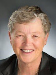 MSU President Lou Anna Simon.