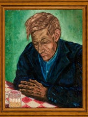 Erich Geiringer painted this oil painting while hiding from the Nazis during World War II. He and his son Heinz would later die during the Holocaust.
