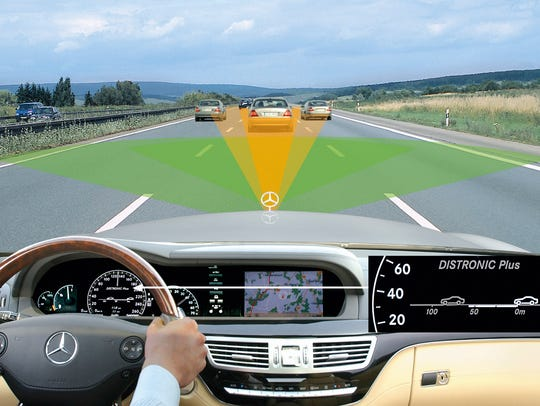 Mercedes-Benz had collision avoidance systems back