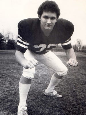 Pete Curkendall was a high school All-American for his senior season at Southside High.