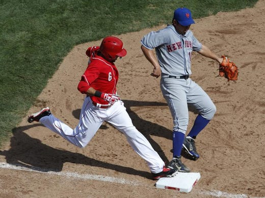 John Fay doesn't see Billy Hamilton getting on base as much as Shin-Soo Choo.