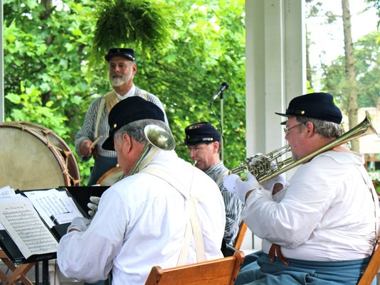The Peace Jubilee Brass Band will provide musical entertainment
