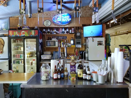 The largely untouched K&T Cantina sits at the north end of Flamingo Island Flea Market.