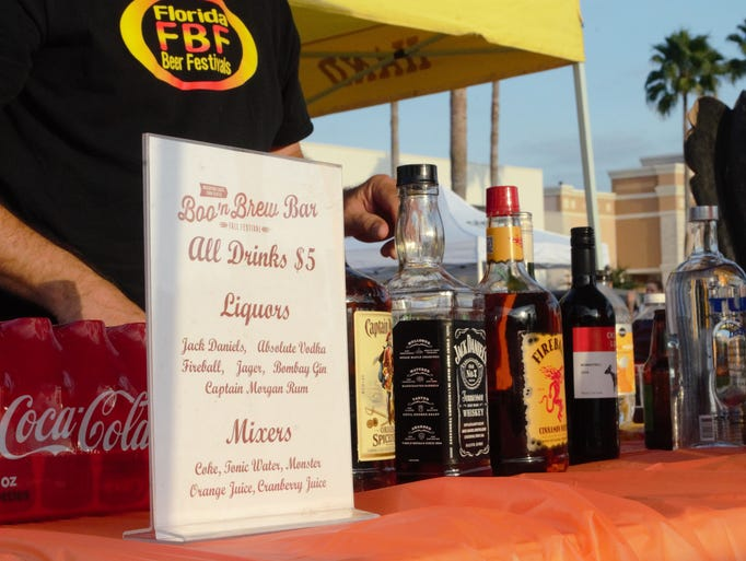 The Boo 'n Brew festival offered various bar specials