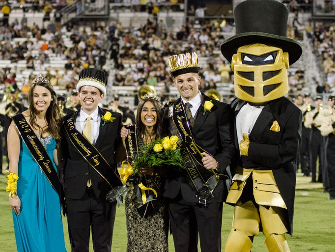 New UCF Homecoming Queen Shanzay Pervaiz and Homecoming