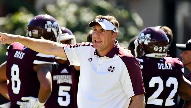 Mississippi State coach Dan Mullen prepares his team for a bounce back performance against Kentucky this week.
