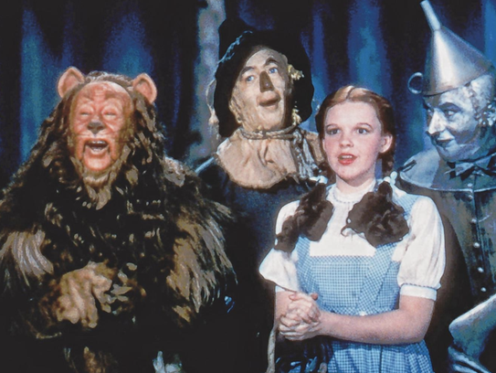 """Dorothy and friends are back on the big screen this week in """"The Wizard of Oz,"""" showing at select Marcus Theatres."""