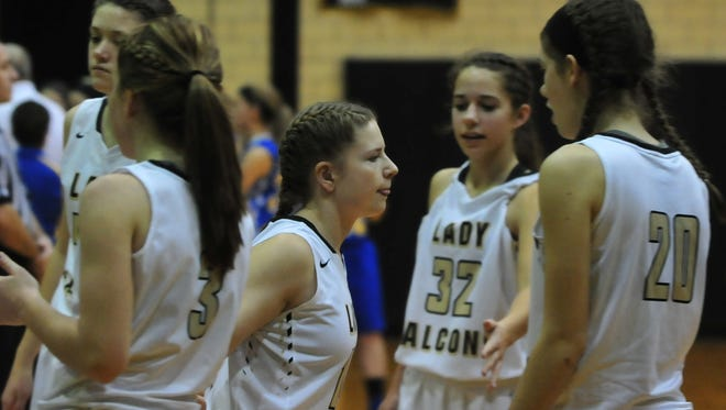 Winchester hosted Lincoln in a Tri-Eastern Conference girls basketball game Saturday, Dec. 10, 2016 at Winchester Fieldhouse.