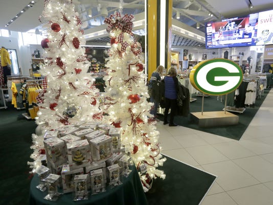 Lambeau decoration