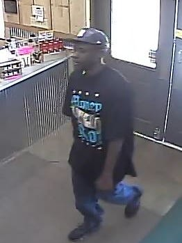 Jackson police are attempting to identify the man suspected of shoplifting from C&C Wine and Spirits in October.