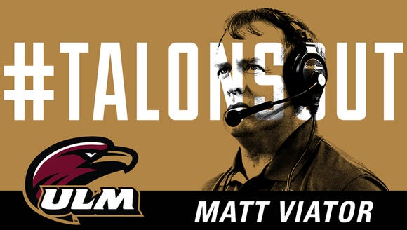 ULM will introduce Viator as its new football coach