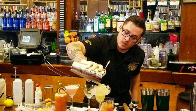 Chance Miller, a longtime bartender at La Posta de Mesilla in Mesilla, won the state's inaugural New Mexico Tournament of Bartenders competition, held April 30 at the Library Bar and Grill in downtown Albuquerque.