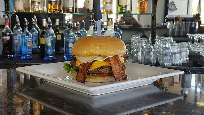 The breakfast burger at Tru Burger Co.