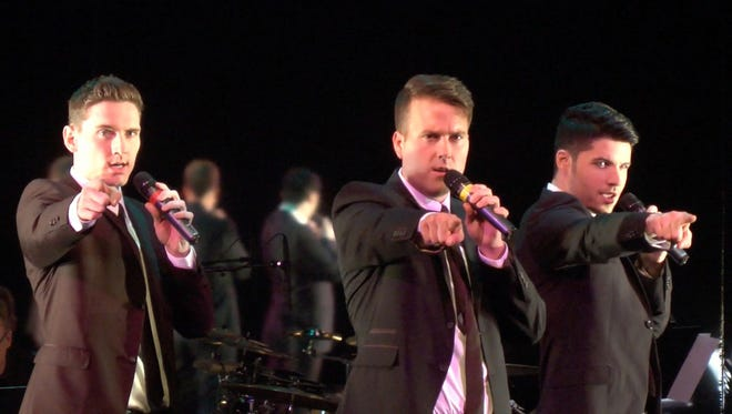 Shades of Buble is a three-man tribute band to Michael Buble and will perform in the area in October.