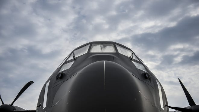 The AC-130J Ghostrider is the fourth generation gunship set to replace the special operations fleet of AC-130H/U/W gunships at Hurlburt Field, Florida, July 30, 2015. AFSOC received its first AC-130J, July 29, from Eglin Air Force Base, Florida where it completed its initial developmental test and evaluation.