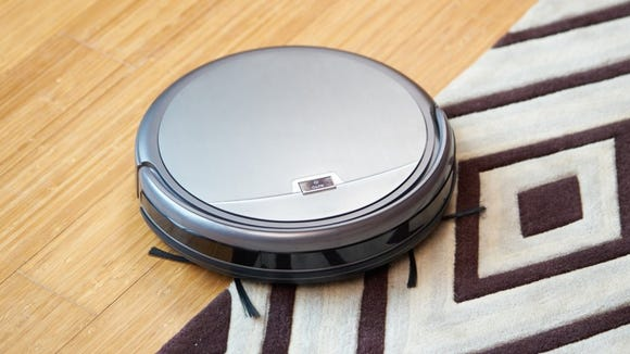 The Amazon coupon puts this awesome robot vacuum under $200