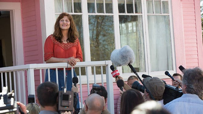 """Catherine Keener in a scene from a movie based on Susette Kelo's court fight, """"Little Pink House,"""" opens Friday in limited nationwide"""