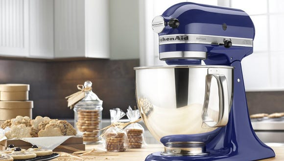 Upgrade your counter with a stylish stand mixer.